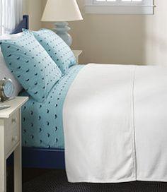 #LLBean: Maine-Made Cotton Twill Blanket