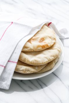 Kitchen Basics: Homemade Pita Bread | Love and Olive Oil