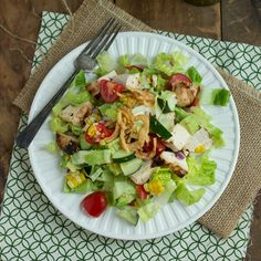 Tequila-Lime Chicken Chopped Salad