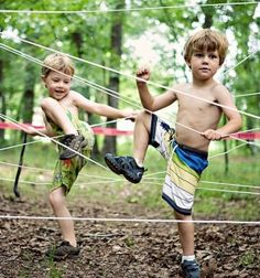 Outdoor Kids Obstacle Course...these are the BEST Backyard Game Ideas for Kids & Adults!
