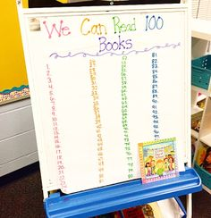 Celebrate the 100th Day of school in your classroom with engaging centers and activities. This resource will give you ideas and tips as will as activities and printables for the 100th Day! In my first grade classroom, we spend the day rotating through 9 different centers. Students have sticker charts and get to add a sticker for each center they visit!
