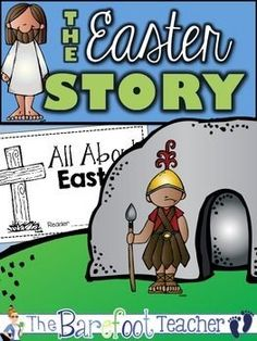 Easter - The Easter Story Emergent Reader  Help your littles read their very own version of the Easter story with this adorable, easy-to-read book for littles.    12 pages - Use them all, or omit some if you'd like.