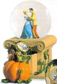 Disney Cinderella Watch Snowglobe