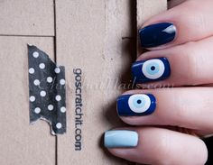 ChitChatNails » Blog Archive » Scratch – Evil Eye