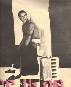 Paul Weller of The Style Council, 1984
