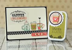Coffee Card & Gift Card Tin by Taylor VanBruggen #GiftGiving, #GiftTins, #GiftCardHolders, #ShareJoy, #TE
