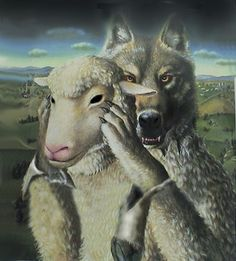 """The Narcissist is the epitome of a """"WOLF in SHEEP'S clothing.""""    ...(Beware of the false prophets, who come to you in sheep's clothing, but inwardly are ravenous wolves.   ~Matthew 7:15)"""