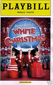 WHITE CHRISTMAS BROADWAY PLAYBILL - STEPHEN BOGARDUS