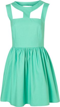 Cut Out Neck Dress By Rare. I Absolutely Love This Style & Color!