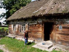 Old Polish house in the countryside, Podlaskie, eastern Poland.