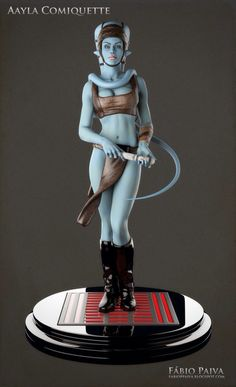 Aayla Comiquette Character Modeling - Star Wars Girls Ideas of Star Wars Girls - Aayla Comiquette Character Modeling Star Wars Rpg, Star Wars Jedi, Star Wars Toys, Toy Art, Sith, Zbrush, Figuras Star Wars, Star Wars Images, Star Wars Girls