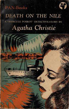 Death on the Nile, Agatha Christie, British Golden Age Crime novel, early Pan edition