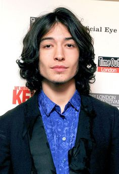 """ezra miller as Patrick Bateman - Yes I know Christian Bale was AMAZING as """"Pat"""" Bateman and I'd never replace him blah blah blah.but IF i had to id choose Ezra Miller because """"We Need To Talk About Kevin"""" and he has the catlike looks of a psychopath. Ezra Miller, Beautiful Person, Beautiful Men, Beautiful People, Sean O'pry, London Film Festival, Pretty Pictures, Celebrity Crush, Pretty People"""
