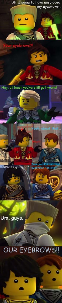 """A scene re-drawn from the episode """"Rise of the Spinjitsu Master"""". i just really like Zane and this scene didn't look too hard to draw, so there ya go. c: art (c) me characters and Ninjago (c) LEGO ..."""