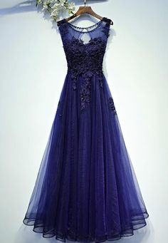 Dark Purple Red Evening Dress 2017 Lace Bead Evening Prom Dresses Gown Floor Length vestido longo Tulle Party Dress On Sale Prom Dresses For Teens, Dresses Short, Cheap Prom Dresses, Prom Party Dresses, Modest Dresses, Pretty Dresses, Beautiful Dresses, Bridesmaid Dresses, Formal Dresses