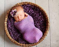 Couverture nouveau-né / Photo nouveau-né Stretch Wrap - lavande Lush Wrap - Prop - couverture de bébé - knitbysarah - points de suture par sarah sur Etsy, $31.55 CAD