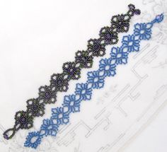 Free Pattern Round Lace Bracelet (update) - at Sova-Enterprises.com