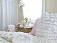 Shabby Cottage Bedroom Tour - Vintage Thrift Store Decor