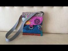 Coudre un petit sac à bandoulière - Tuto Couture Madalena - YouTube