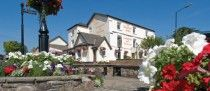 The Beaufort Arms Coaching Inn & Restaurant, Raglan Village, Monmouthshire, Wales. Pub / Inn.