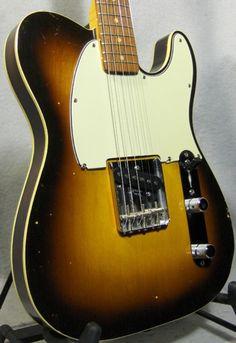 1960 Fender® Custom Esquire Three Tone Sunburst, Excellent, Original Hard, $21,999.99 (via Gbase.com)