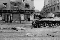 Not published in LIFE. Death and destruction in the streets of Budapest, Michael Rougier—The LIFE Picture Collection/Getty Images Life Pictures, Old Pictures, Soviet Army, Central Europe, Budapest Hungary, Life Magazine, World War Two, Historical Photos, Great Places