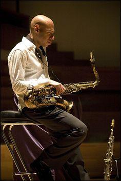 Joshua Redman. Photo Garry Corbett