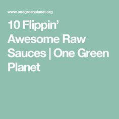 Skip boiling the pasta and opt for zucchini noodles to make a raw meal. Lighten up your cooking with these flippin' awesome raw sauces: Raw Vegan Recipes, Cooking Recipes, Healthy Recipes, Vegan Food, Healthy Salads, Healthy Eating, Raw Meal, One Green Planet, Sugar Free Recipes