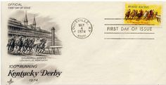 1974 100th Running Kentucky Derby- #1528 Kentucky Derby, Horse Racing, Running, Day, Racing, Keep Running, Track