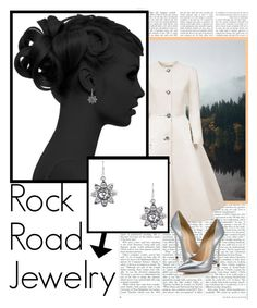 """""""Rock Road Jewelry 1"""" by barbara-996 ❤ liked on Polyvore featuring Esme Vie and Casadei"""