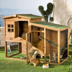Kerbl small animal barn Fortuna- Kerbl Kleintierstall Fortuna TREPPE KERBL small animal barn Fortuna - Source by Bunny Cages, Rabbit Cages, Rabbit Farm, Online Pet Supplies, Dog Supplies, Rabbit Habitat, Outdoor Rabbit Hutch, Duck House, Rabbit Hutches