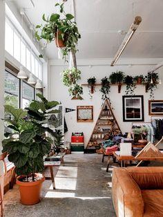 Living Room Windows, Home Living Room, Living Room Decor, Living Spaces, Bedroom Decor, Boho Deco, Bohemian House, Dream Rooms, My Dream Home