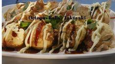 Takoyaki / Octopus Balls Japanese Ramen, Takoyaki, Fish Shapes, Finger Foods, Octopus, Balls, Corner, Beef, Make It Yourself