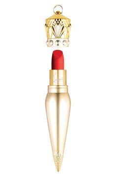 Christian Louboutin Velvet Matte Lip Colour in Diva, $90, metro Detroit-area Nordstrom stores, nordstrom.com