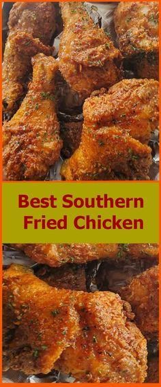 How To Make The Best Southern Fried Chicken | superfashion.us Fried Chicken Seasoning, Fried Chicken Drumsticks, Kfc Chicken Recipe, Chicken Drumstick Recipes, Fried Chicken Recipes, Chicken Meals, Chicken Thighs, Baked Chicken, Dinner Dishes