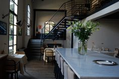 Galeffi Restaurant in Montevarchi, Tuscany, project by Luigi Fragola Architects #Luigifragola #IndustraialRestaurant #Industrial #architect #design