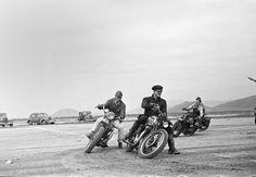 Desert Bike Racing Photo