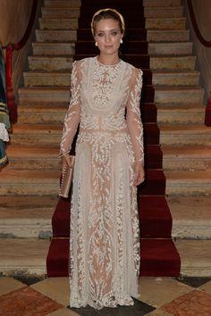 Carolina Crescentini  #FestivalVenecia #Celebrities #Valentino #Chic #BohoChic #WhiteLook