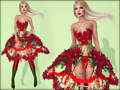 181d1d147 santababy-couture Disney Characters, Fictional Characters, Strapless Dress, Second  Life, Disney