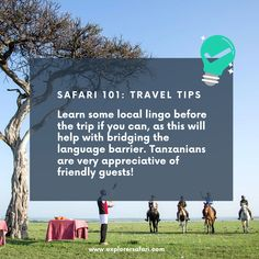 Is a Tanzanian safari on your future travel cards? Now is the perfect time for you to learn the local lingo! Language barriers are part of travelling - they create the best memories and experiences. See here for more safari travel tips. #explorer #explorersafari #africa #traveltoafrica #safari #safaritips #tanzania #language #tips #traveltips #wheninafrica #adventure #exploreafrica #eastafrica #travel #loveafrica #exploreafrica #traveladventures #language #travelinspo #bucketlist #lovelanguage Africa Destinations, Tanzania Safari, Travel Cards, Love Languages, Future Travel, East Africa, Africa Travel, Best Memories, Travelling