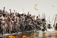 #India, #Allahabad, Kumbh Mela, one of the biggest religious festivals in the world