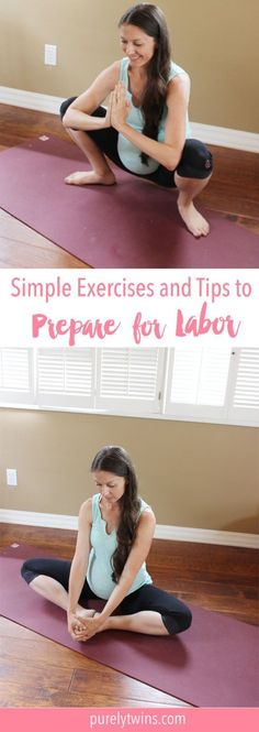 Did you know that you can do prenatal exercises to help your body and baby be in optimal shape for a quicker, easier natural childbirth? Here are tips to help you prepare for childbirth and labor. Sharing exercises, stretches and lifestyle tips for you to practice before giving birth. #NaturalParenting
