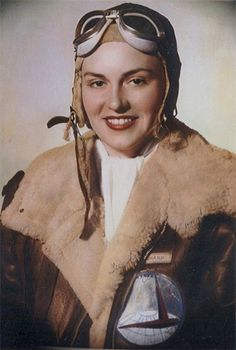 03 Apr 44: 24 year old aviator Evelyn Sharp, one of the original Women's…