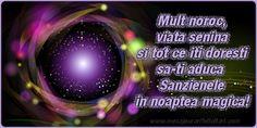 Mult noroc, viata senina si tot ce iti doresti sa-ti aduca Sanzienele in noaptea magica!