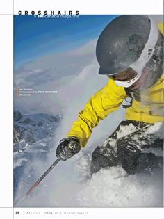 photo: Paul Morrison at Blackcomb BC from Spring 2012 issue
