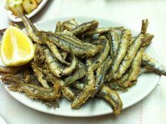 Fried Sardines (sardinas fritas)