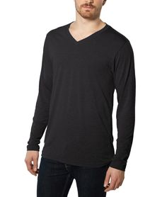Weightless Long Sleeve V-Neck by NAYKED