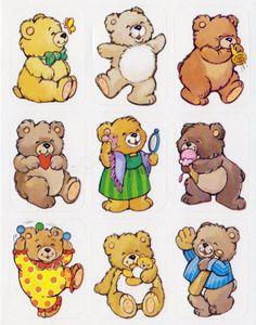 37 best teddy bear stickers images on pinterest teddybear