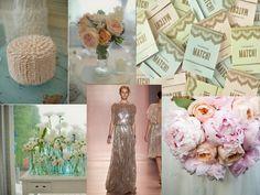 Vintage wedding colors