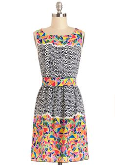 Partial to Prints Dress | Mod Retro Vintage Dresses | ModCloth.com